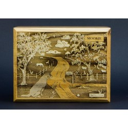 Traditional Urn with LovedPet Scene